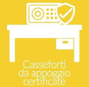 Casseforti da Appoggio Certificate