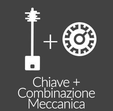 Chiave + Meccanica 3 Dischi